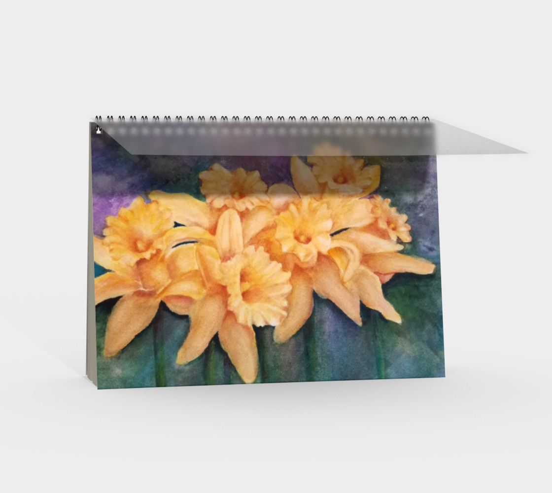 Daffodils Spiral Notebook preview #2