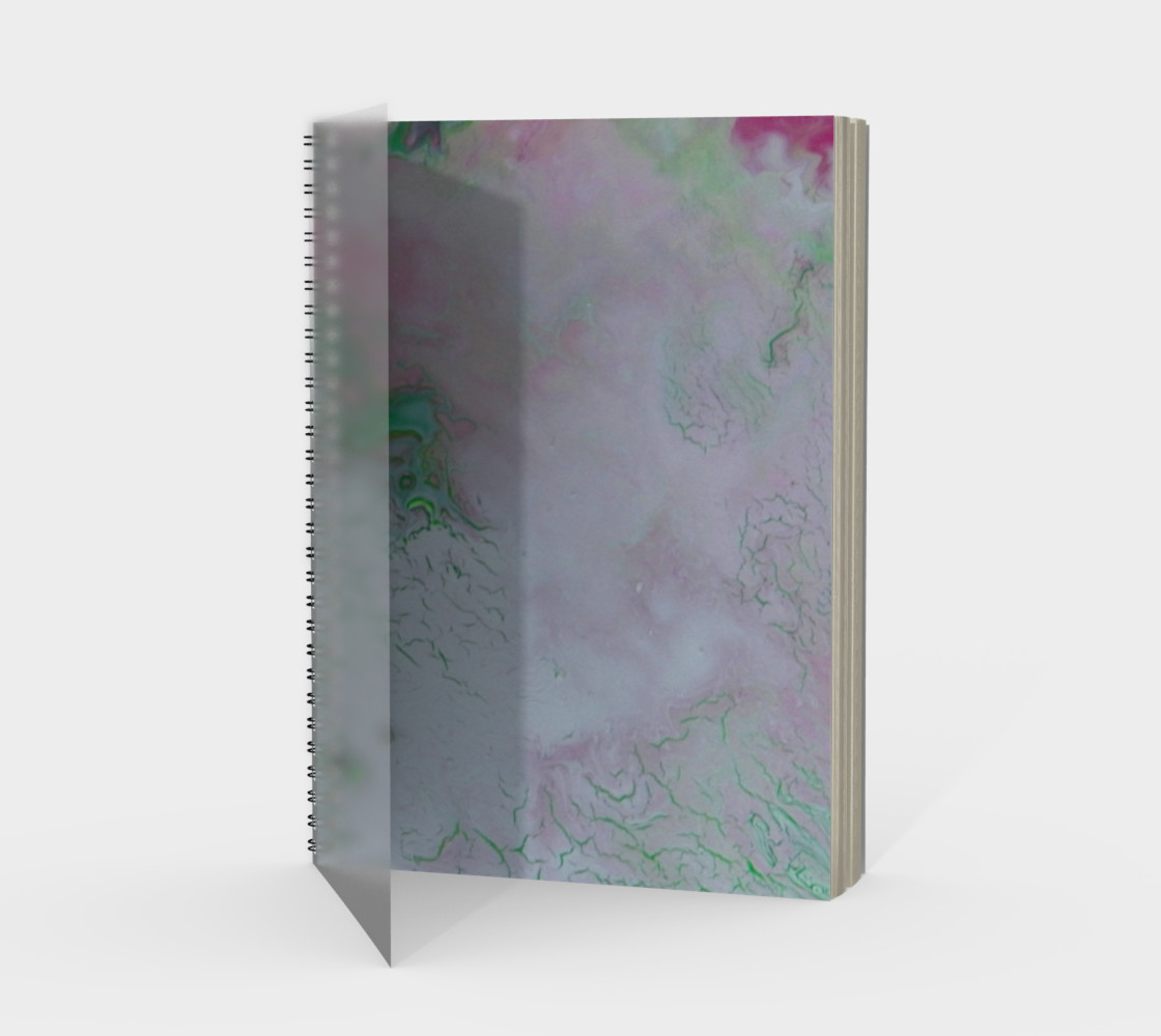 Unicorn Kisses Spiral Notebook preview #1