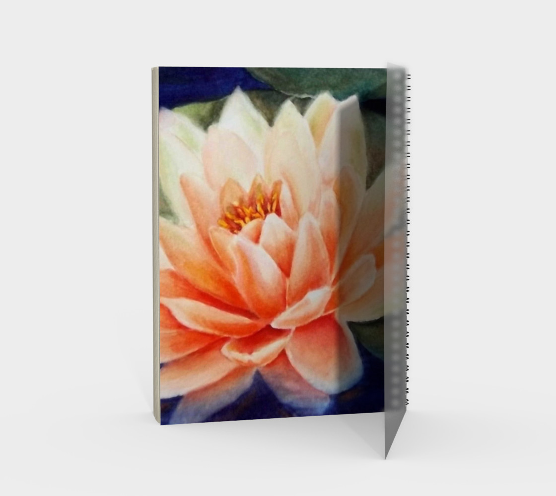 Waterlily Spiral Notebook preview #2