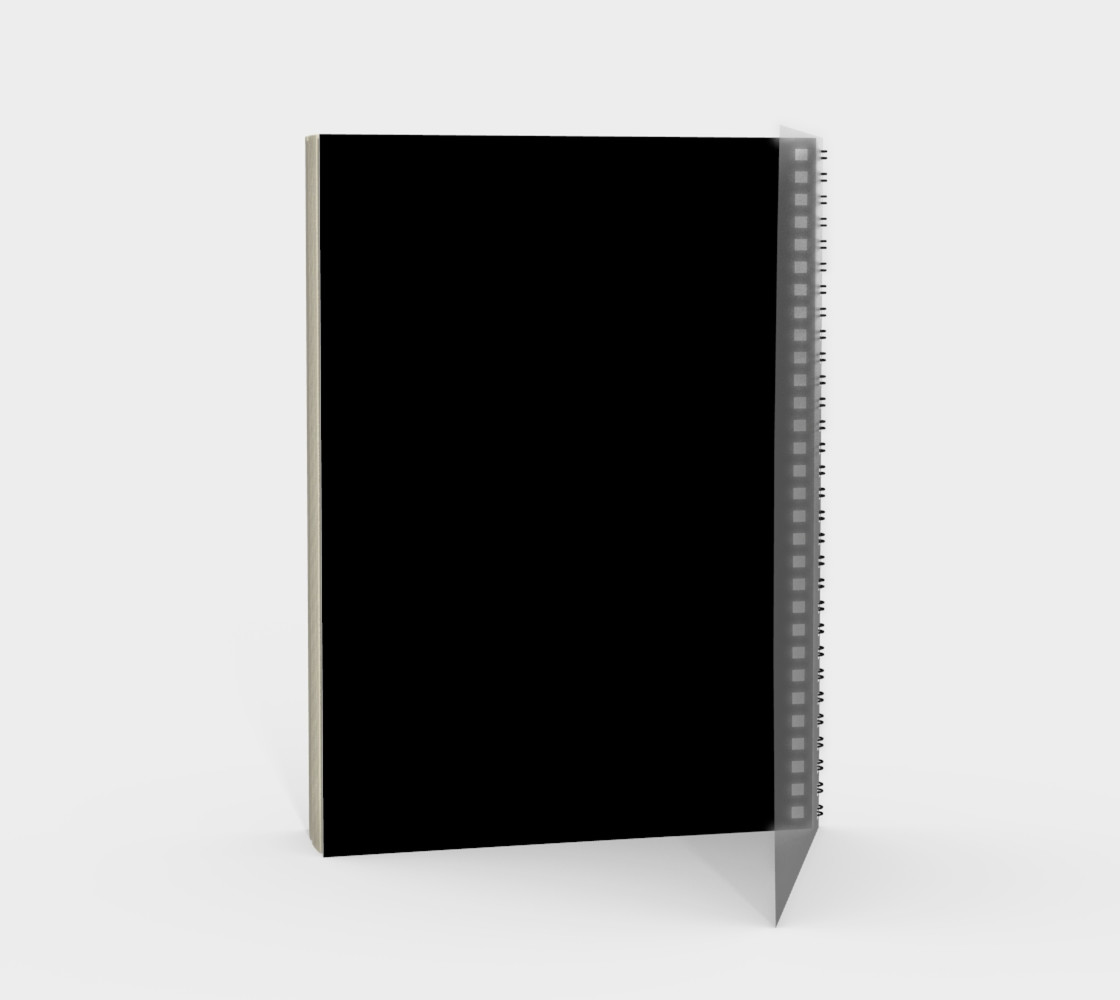White N'est-ce Pas Spiral Notebook preview #2