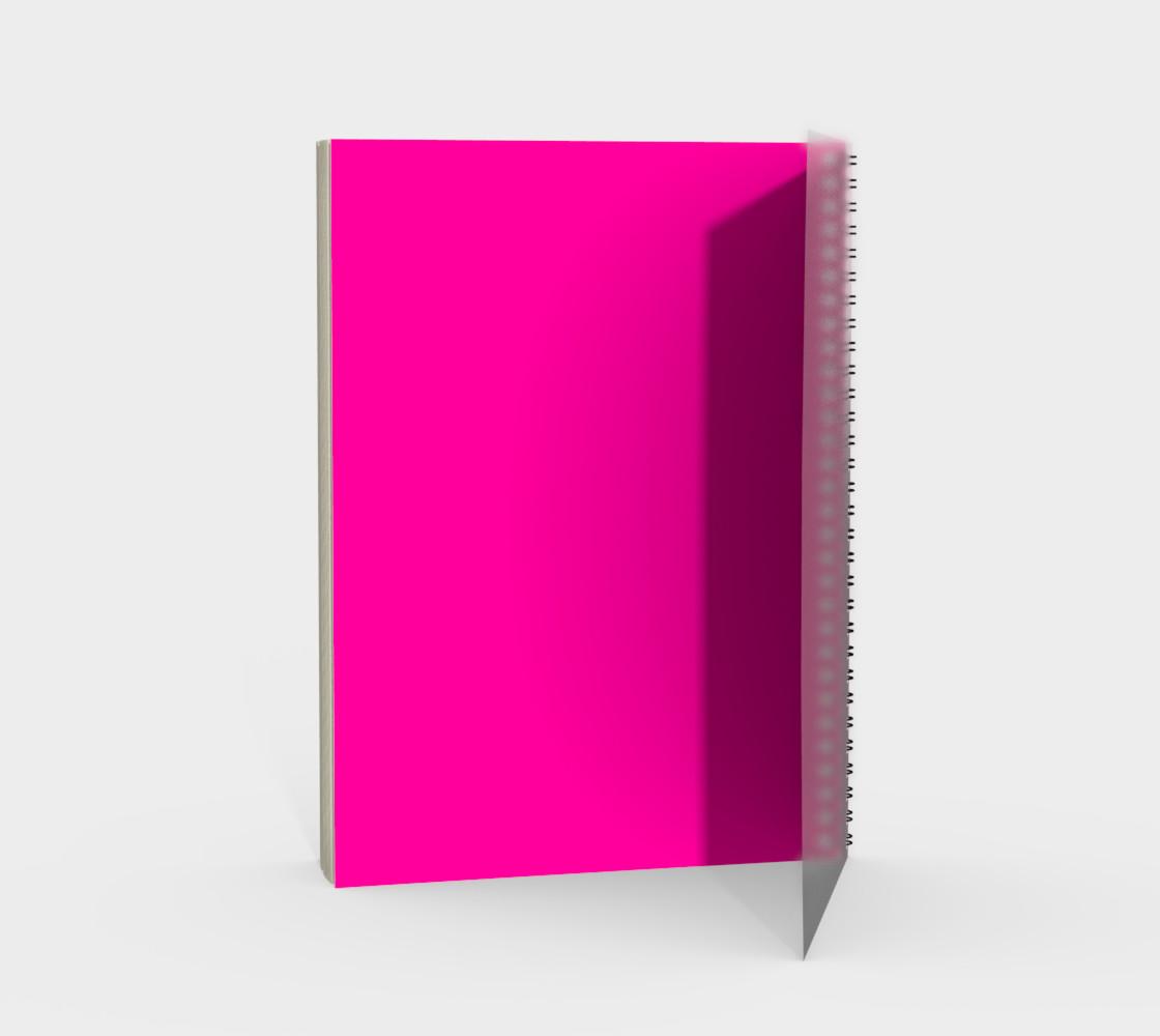 Aperçu de Fuchsia C'est la Vie Spiral Notebook #2