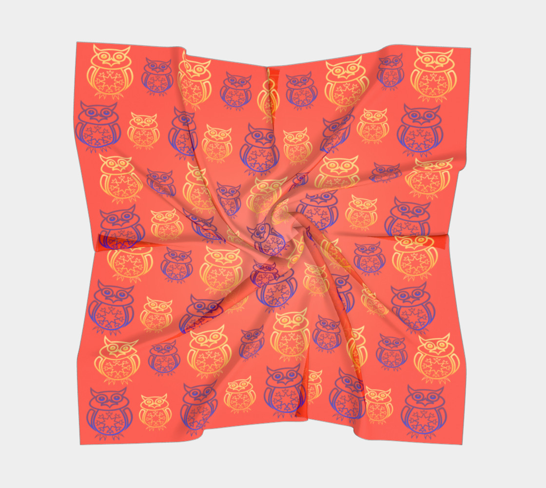 Owl Design Orange preview #5