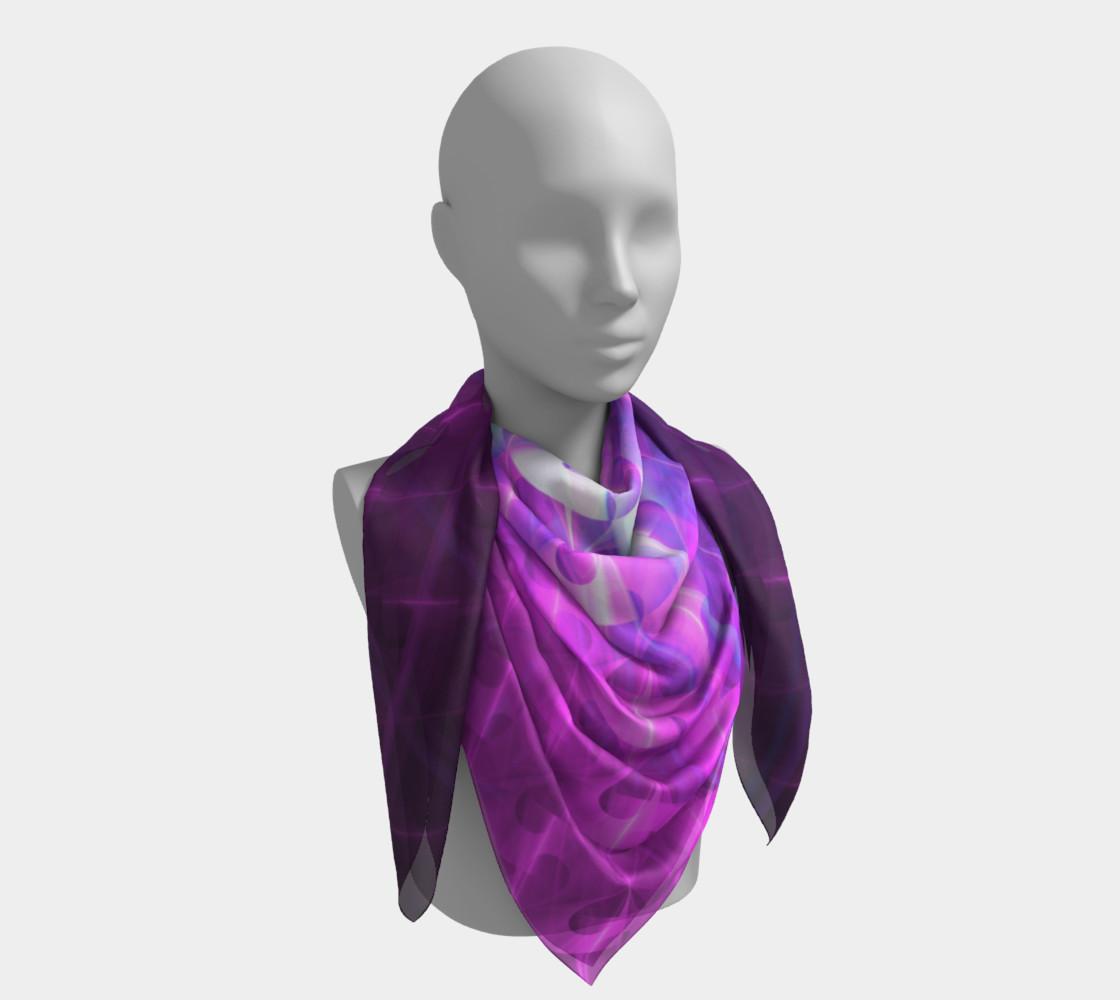 Shiny Purple Buttons | Future Art Fashion preview #4