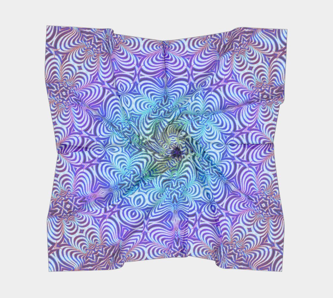 Aperçu de Purple Blue Snowflake #5