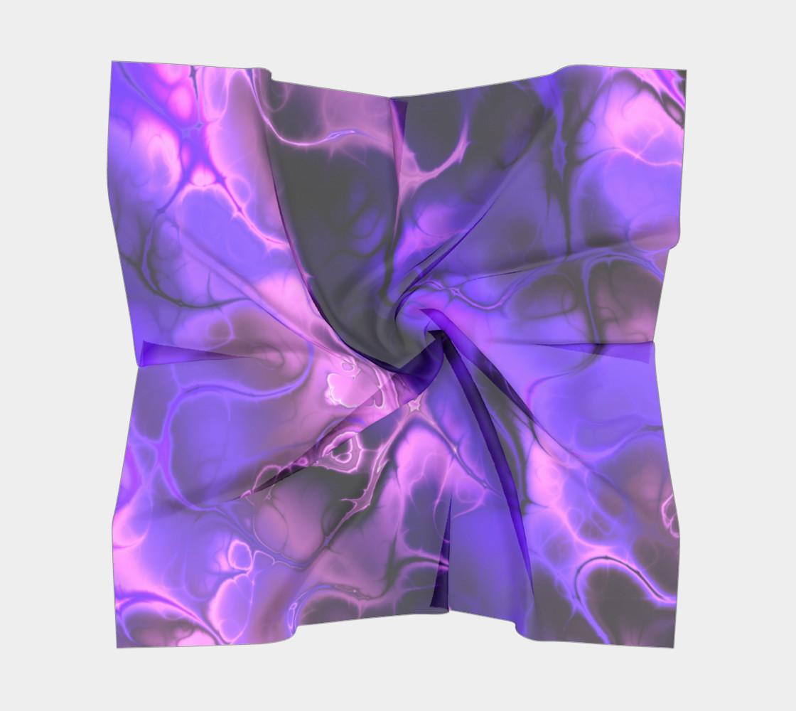 Colourful Fractal Art in Blues, Purples and Pinks preview #5