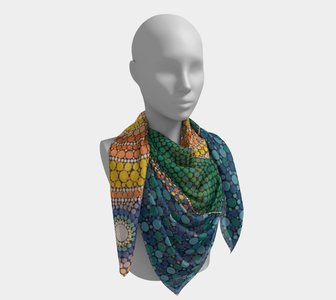 Sunrise Scarf preview #4
