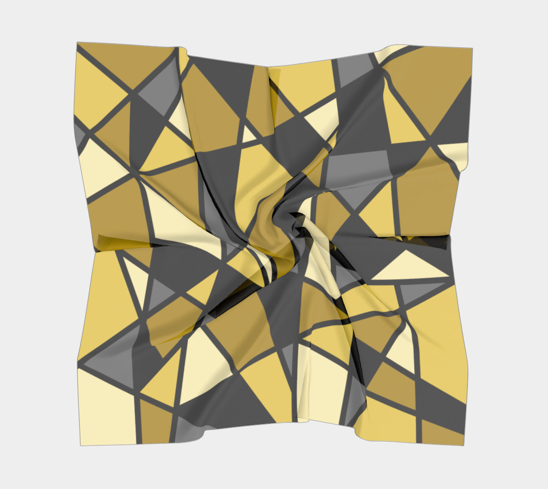 Modern Geometric in Yellow, Gray and Black preview #5