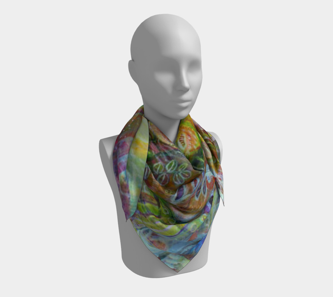 """Nature"" large scarf preview #3"