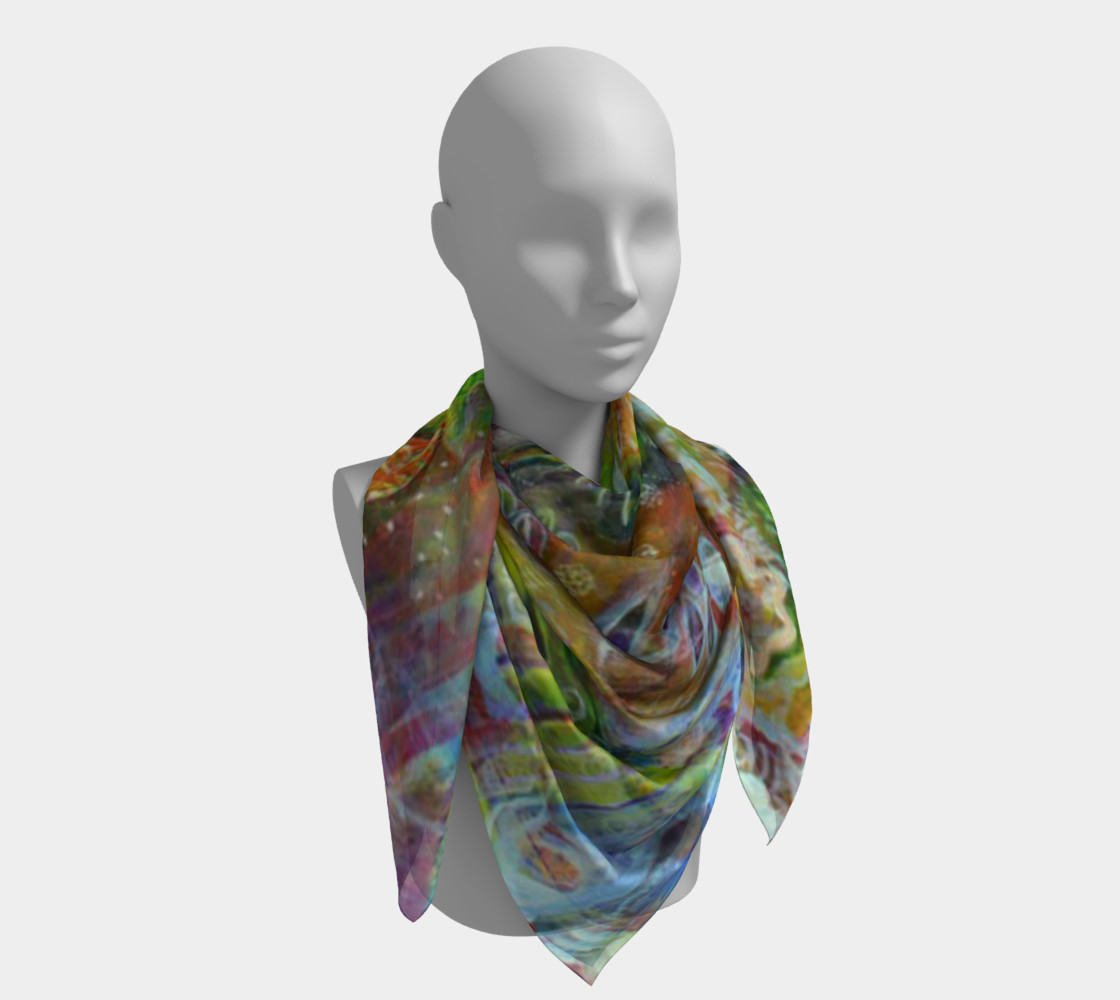 """Nature"" large scarf preview #4"