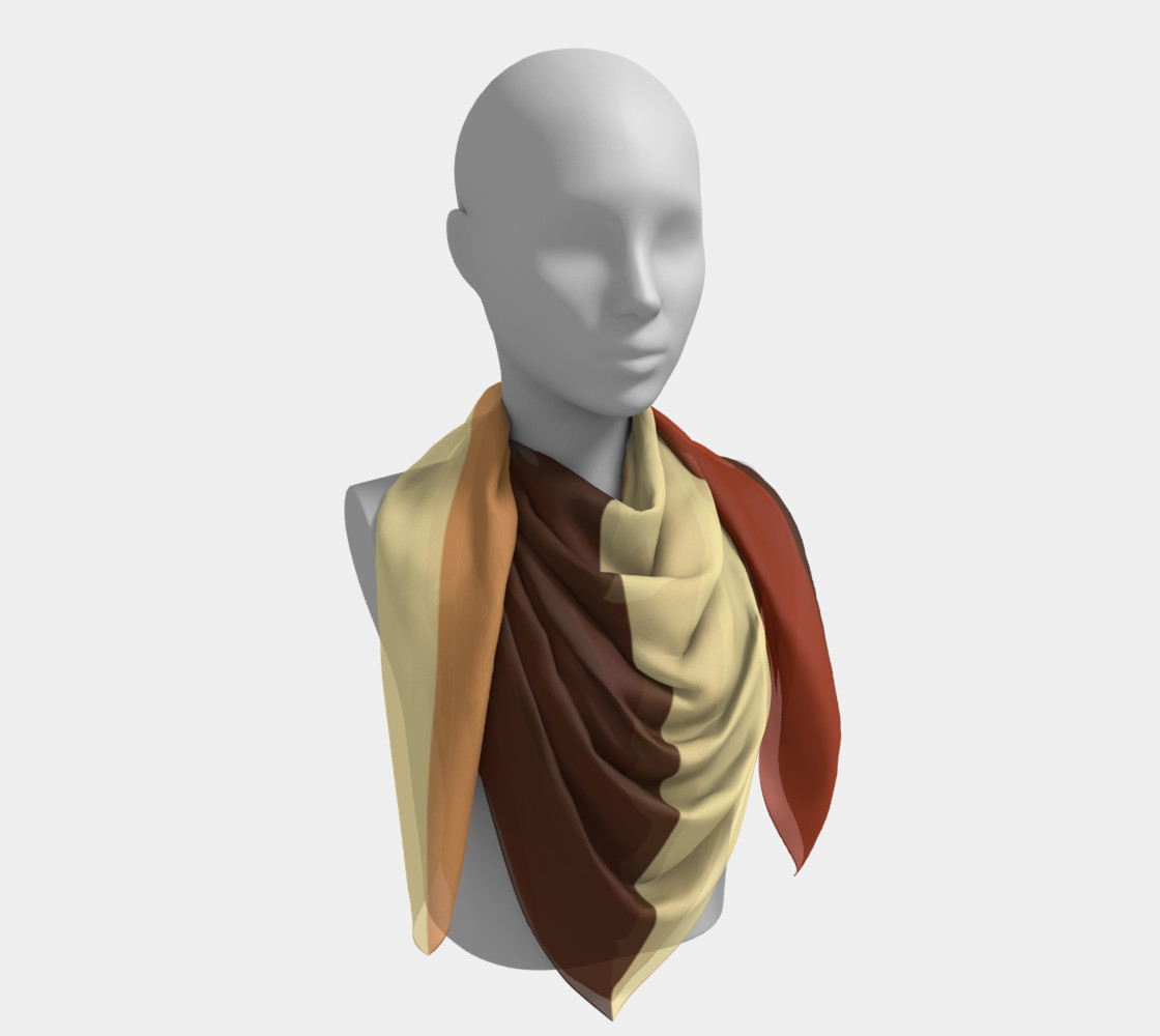 Autumn Shades Scarf preview #4