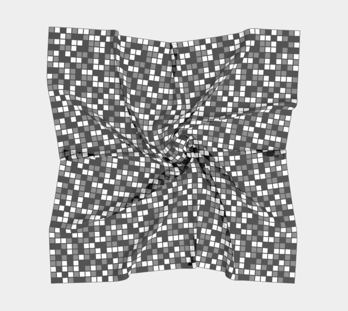 Aperçu de Grey, Black, and White Random Mosaic Squares #5