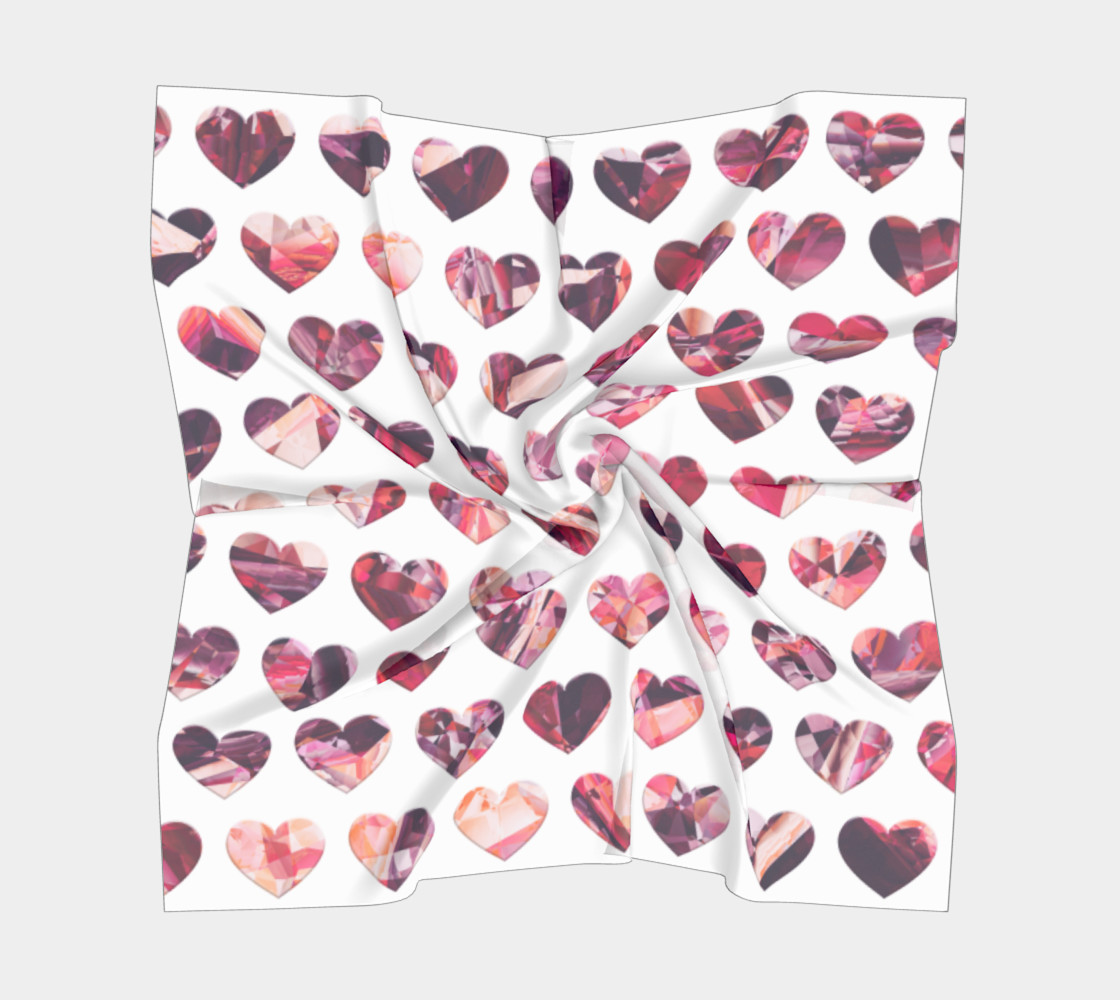 Crystal Hearts Pattern preview #5