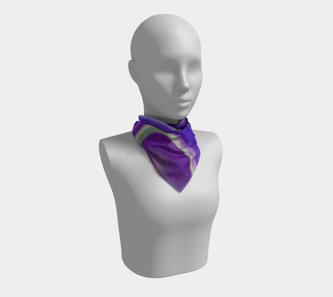 Crocus abstract scarf preview #1
