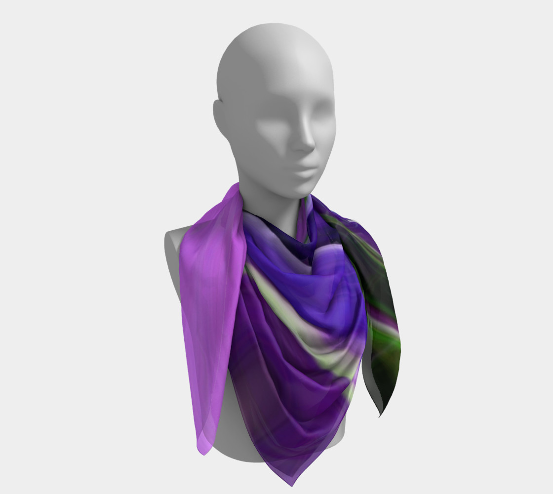 Crocus abstract scarf preview #4