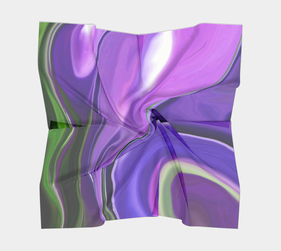 Crocus abstract scarf preview #5