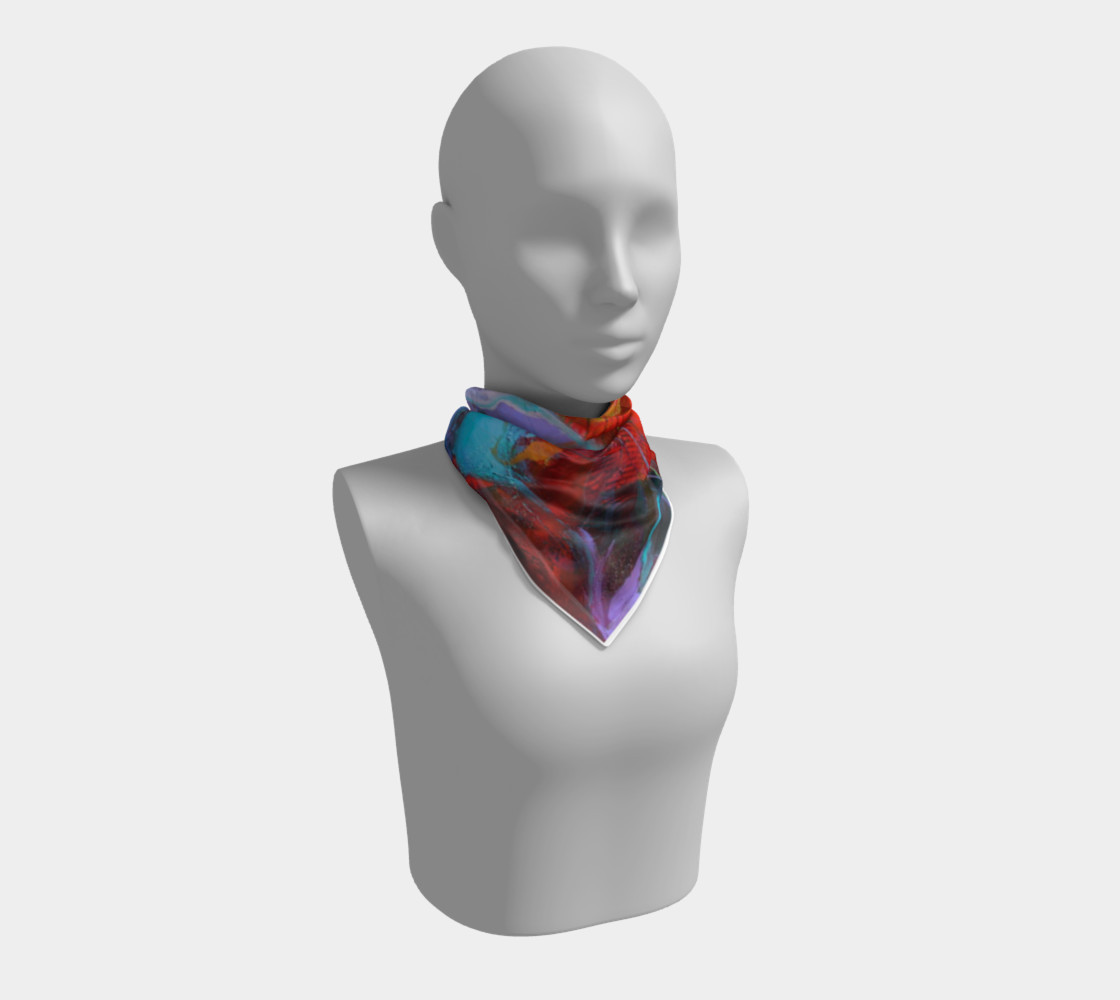 """""""Fire"""" large scarf preview #1"""