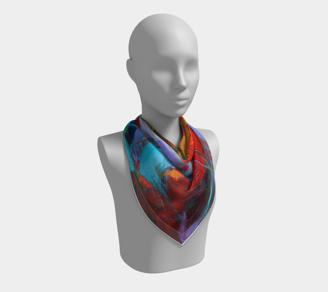 """""""Fire"""" large scarf preview #2"""
