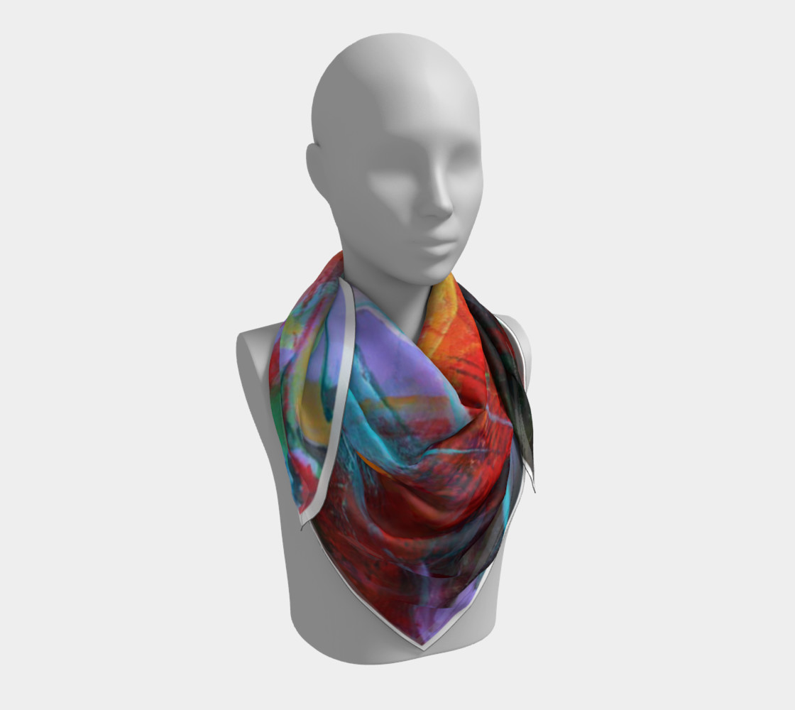 """""""Fire"""" large scarf preview #3"""