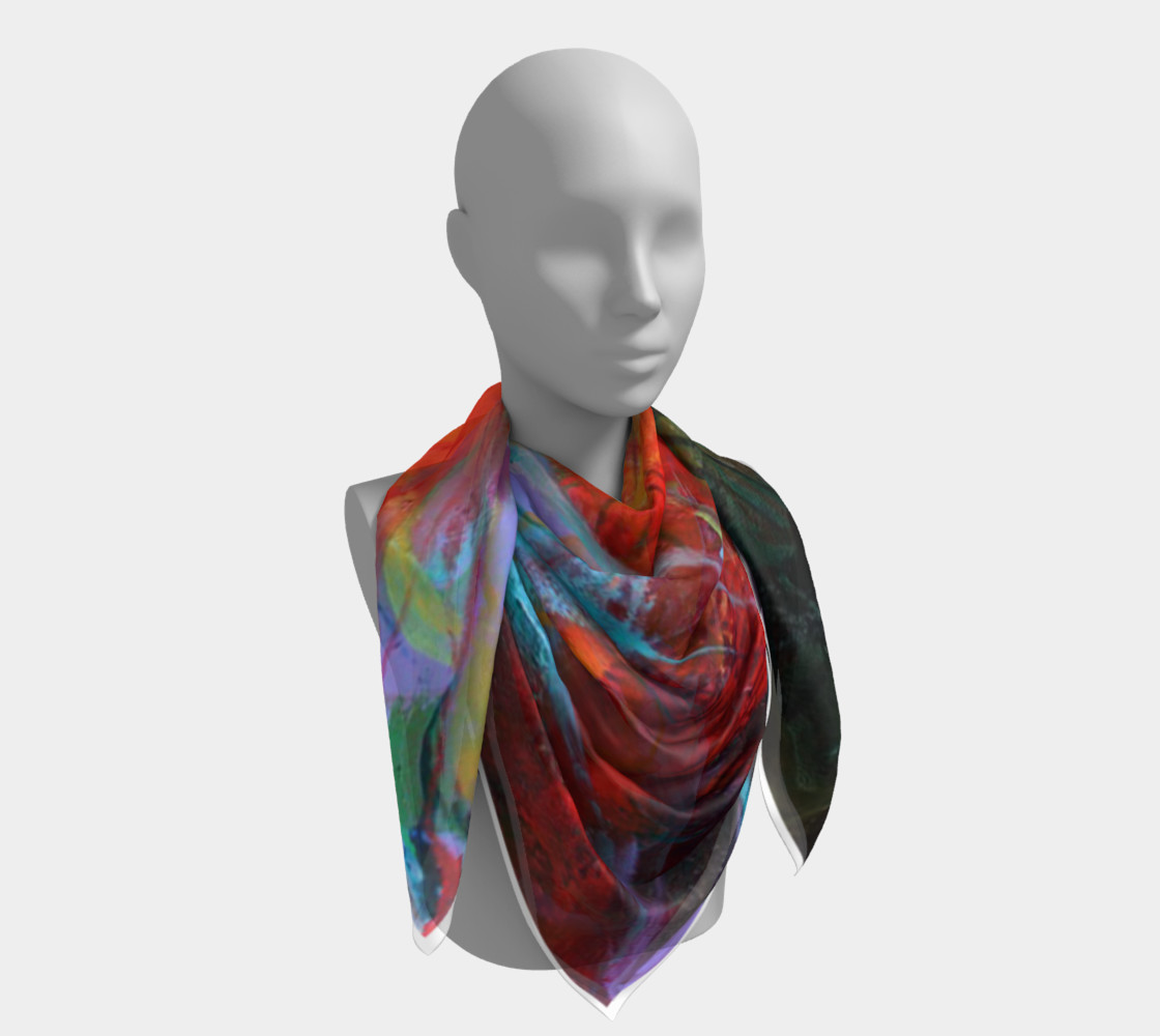 """""""Fire"""" large scarf preview #4"""
