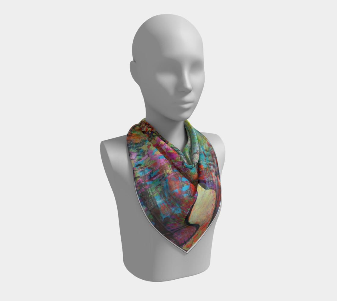 """""""Sakura"""" large scarf preview #2"""