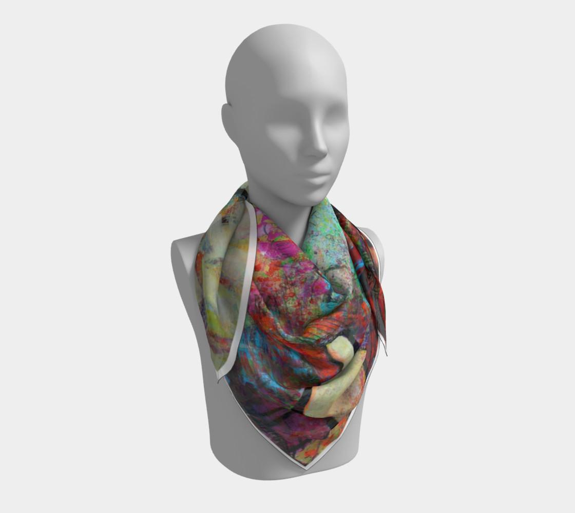 """""""Sakura"""" large scarf preview #3"""