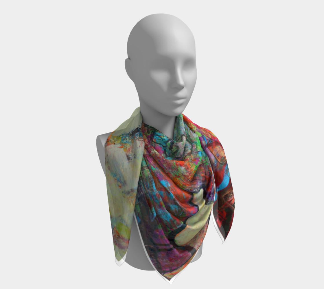 """""""Sakura"""" large scarf preview #4"""