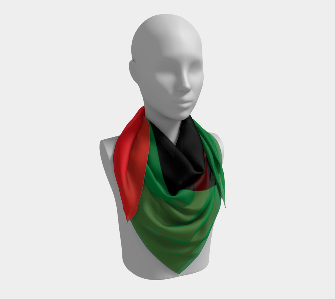 Pan-African Flag Miniature #4