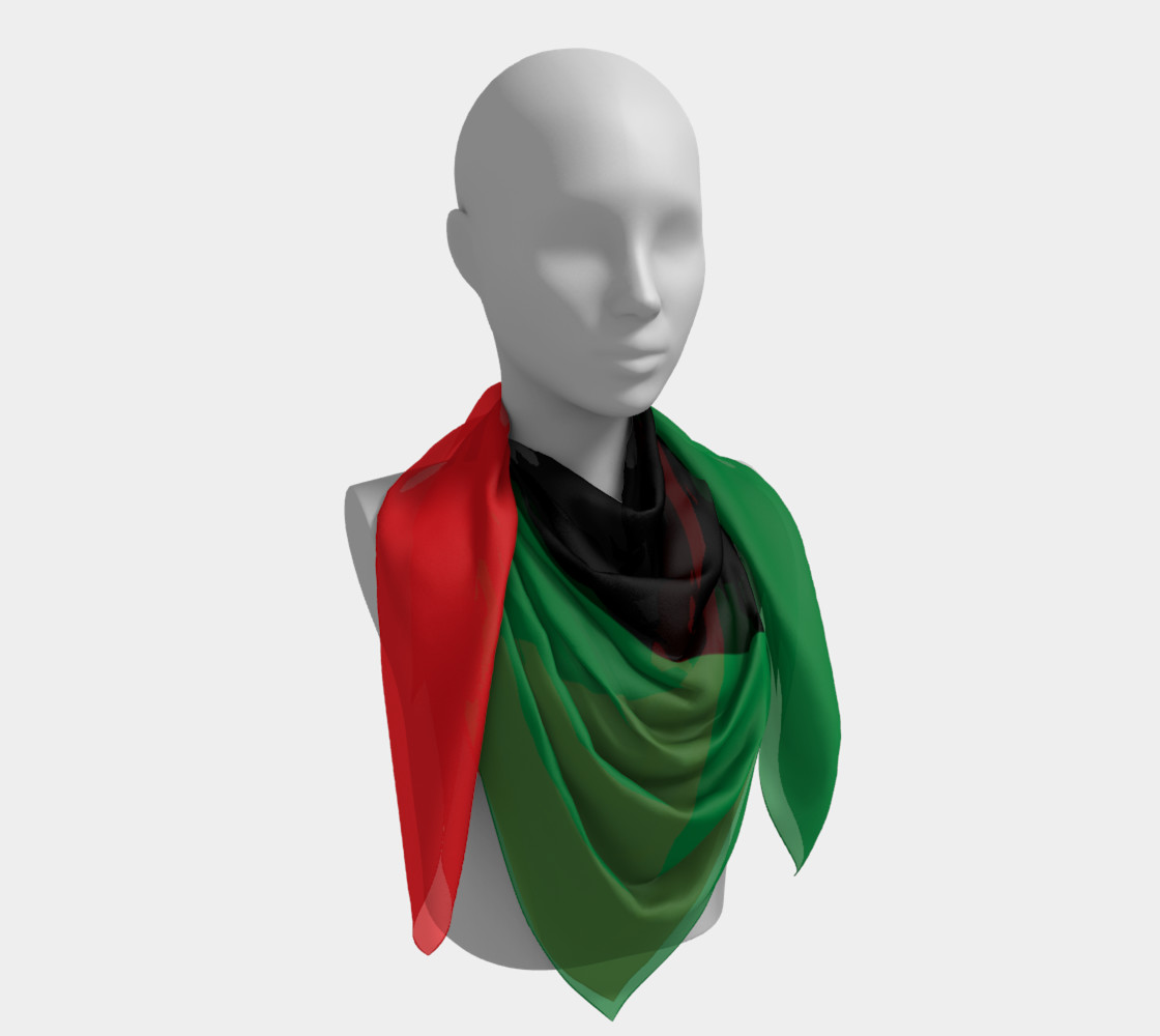 Pan-African Flag Miniature #5
