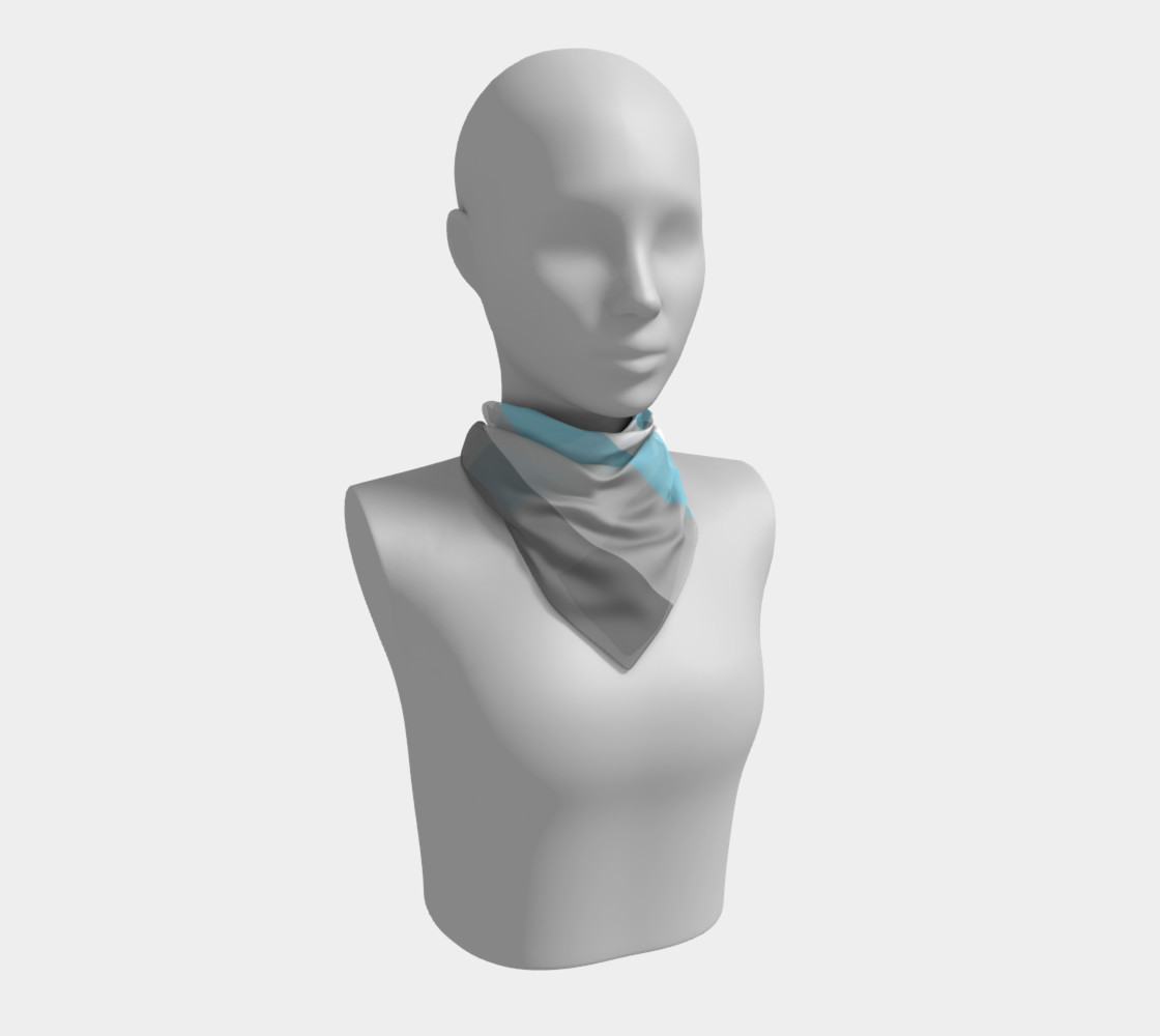 Demiboy LGBT Square Scarf preview #1