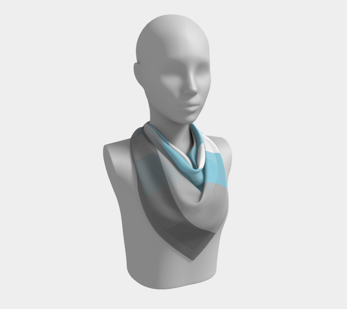 Demiboy LGBT Square Scarf preview #2