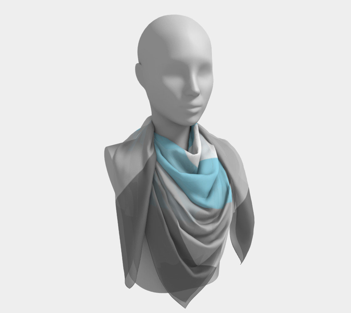 Demiboy LGBT Square Scarf preview #4