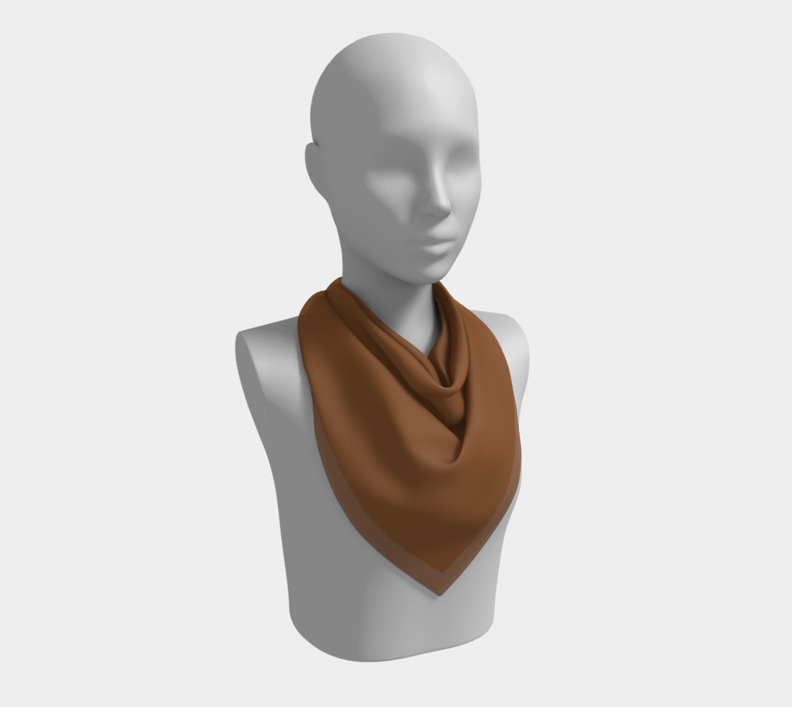 Boxer Fawn Square Scarf preview #2