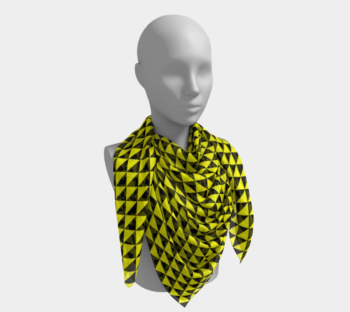 Aperçu de Black and Yellow Triangles #4