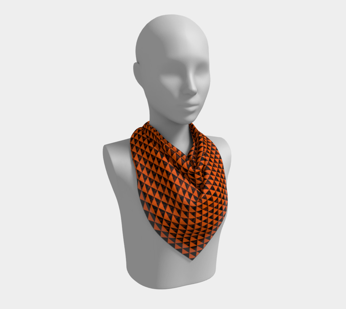 Black and Orange Triangles preview #2