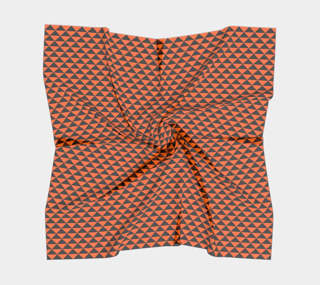 Aperçu de Black and Orange Triangles #5