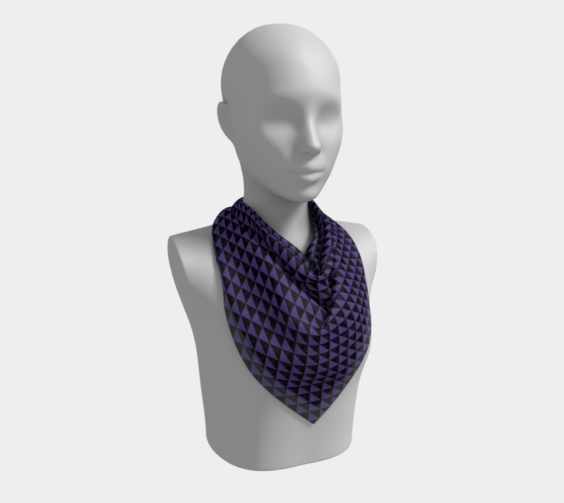 Black and Ultra Violet Purple Triangles preview #2