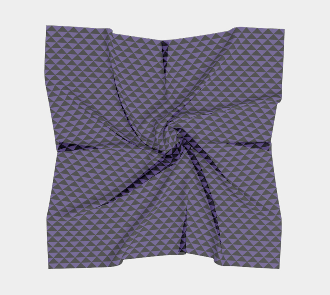 Black and Ultra Violet Purple Triangles preview #5