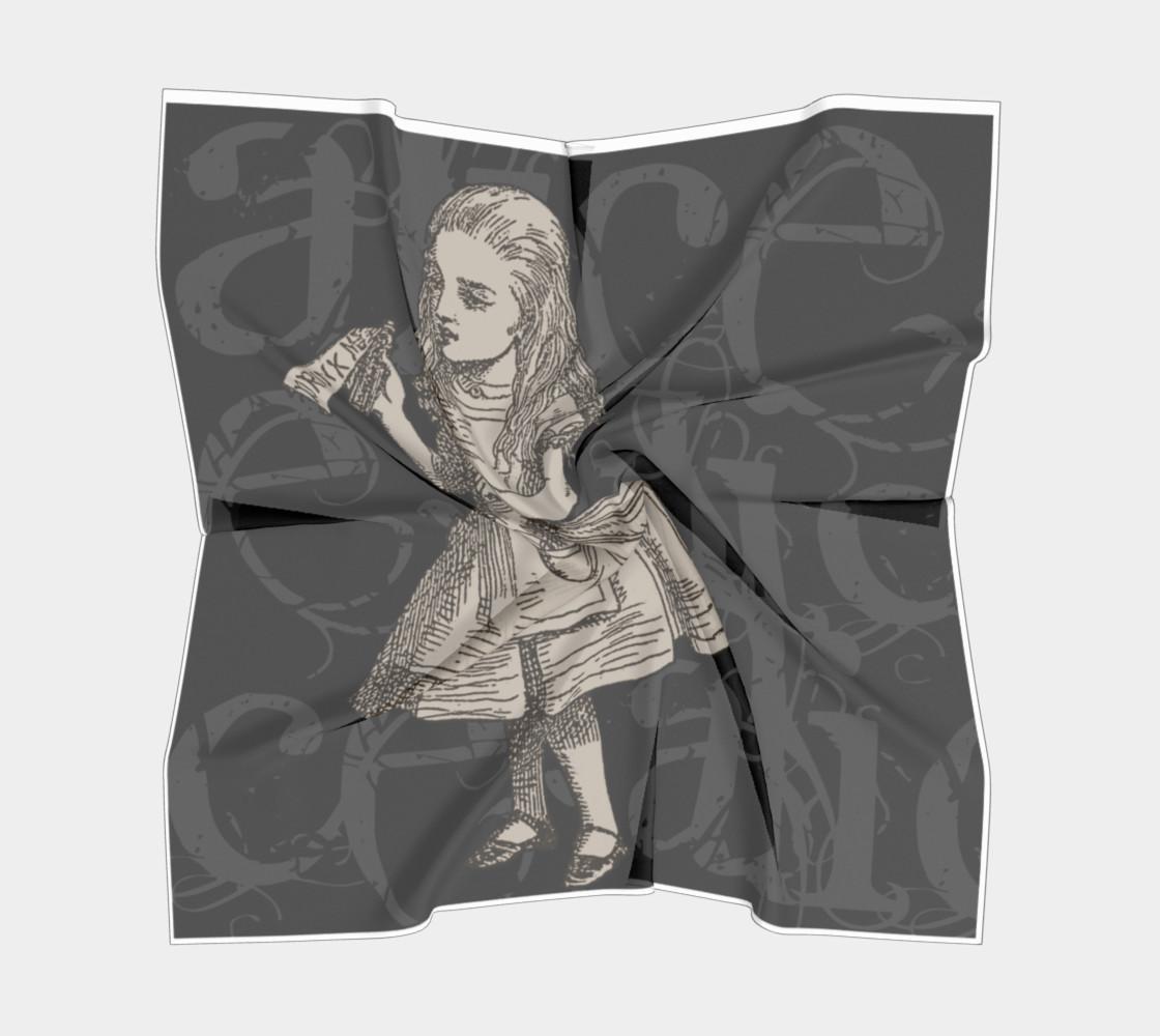 Alice In Wonderland Grunge Alice Big Square Scarf preview #5