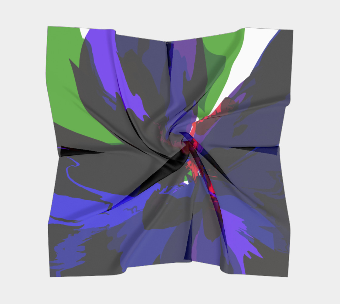 Colorful Abstract Purple Flower by HOLLIDAY preview #5