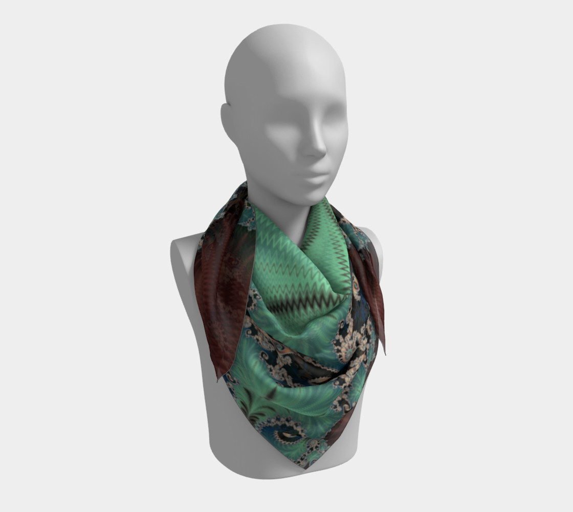 AZURE Square Scarf preview #3