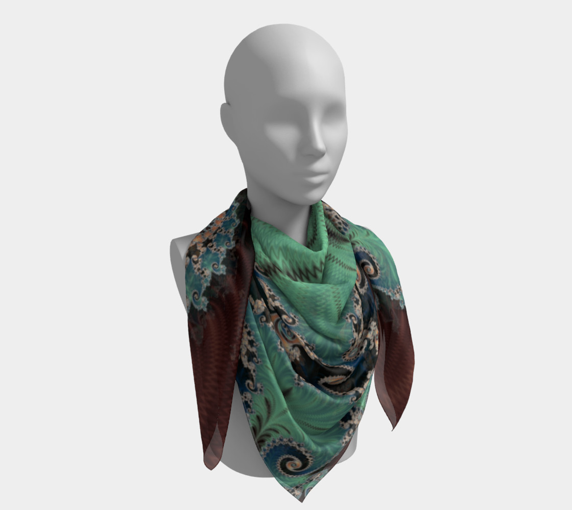 AZURE Square Scarf preview #4