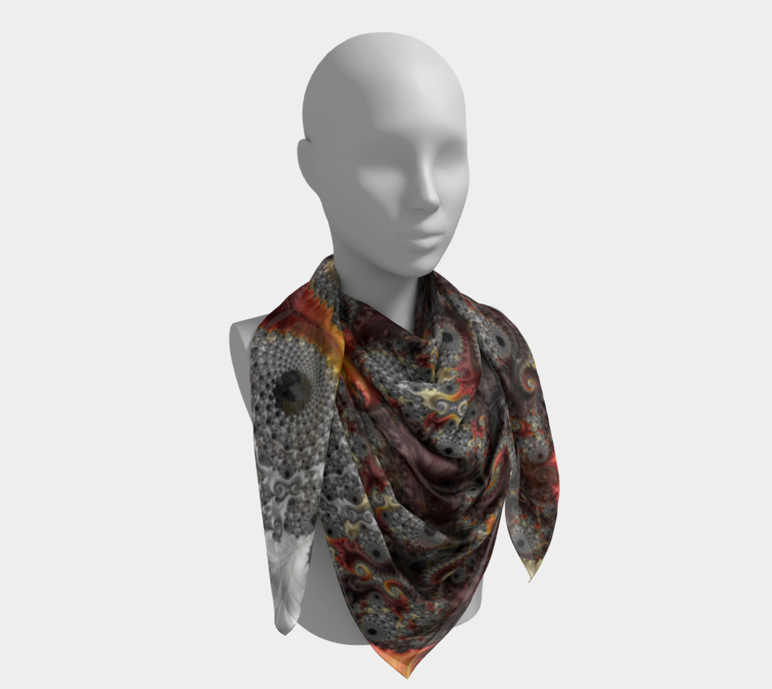 Elegance Square Scarf preview #4