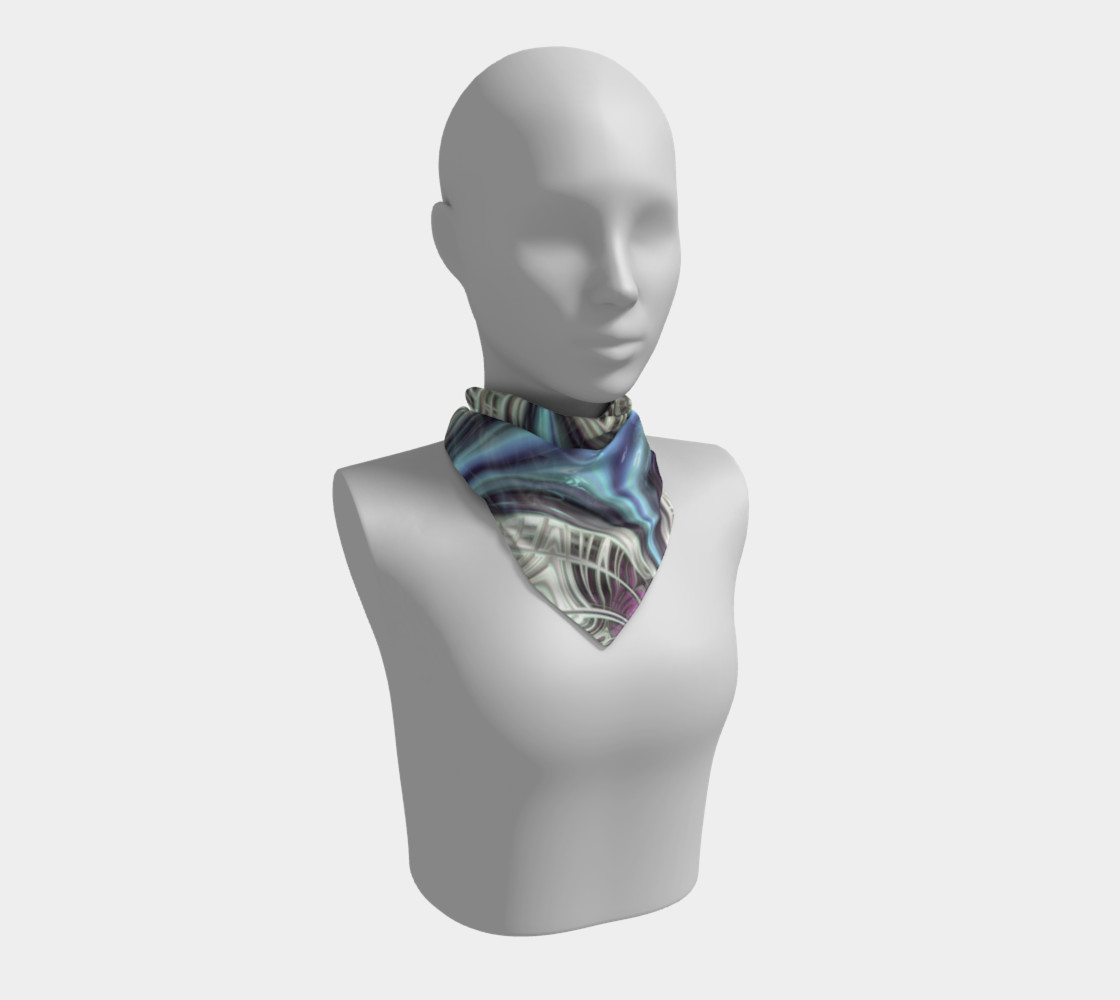 Cosmic Orchid Square Scarf preview #1