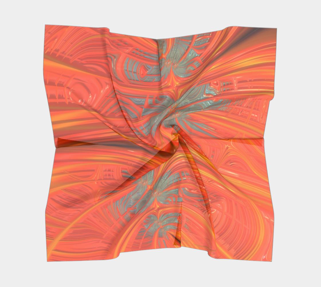 Tangerine Dream Square Scarf preview #5