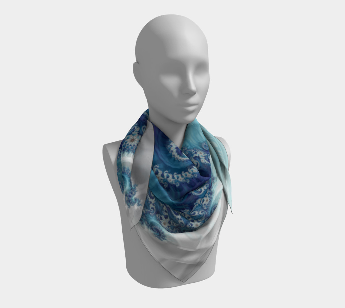 Sound of Seashell Square Scarf preview #3