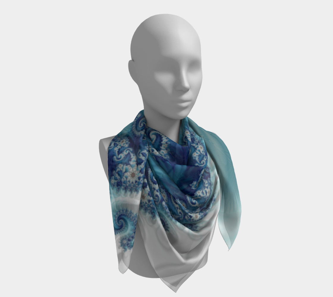 Sound of Seashell Square Scarf preview #4