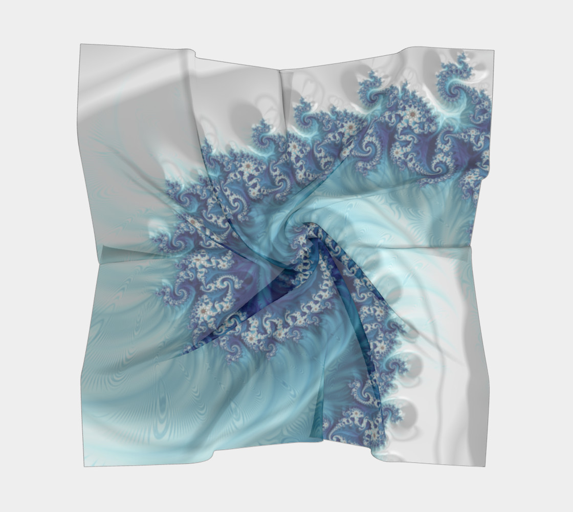 Sound of Seashell Square Scarf preview #5