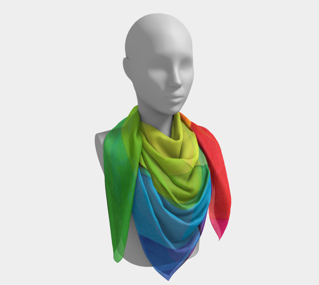 Tranquility Square Scarf preview #4