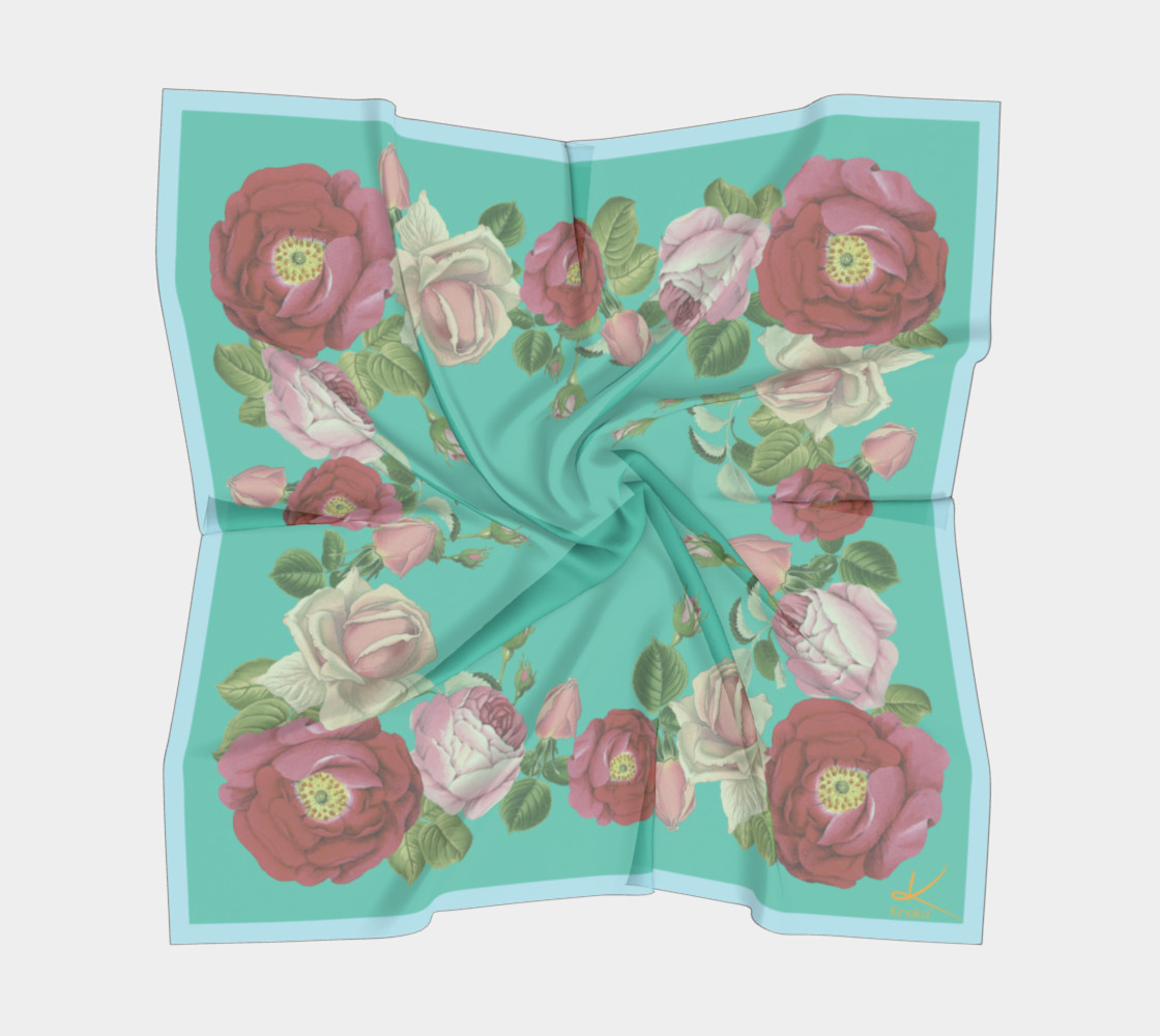 Teal Rose preview #5