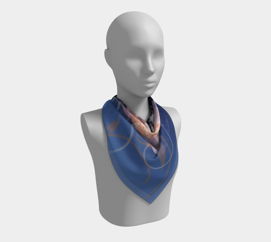 Flower Pop Scarf preview #2